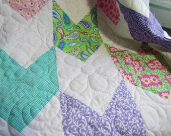 Quilted Stroller Baby Blanket