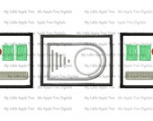 Vader Belt 3 Pieces- Embroidery Machine Design Applique 4x4 5x7 INSTANT DOWNLOAD