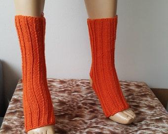 Yoga Socks // Boot cuff / Pedicure Socks // Toeless Socks // Toeless Yoga Socks // Knit Yoga Sock / Ankle Warmer,pilates,flip flops,sandals,