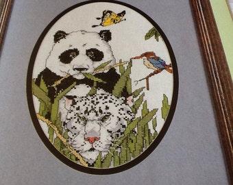 Asian Wildlife - Cross stitch pattern only