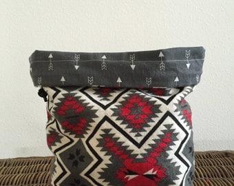 Aztec - Knitting Project Bag - Phat Fiber