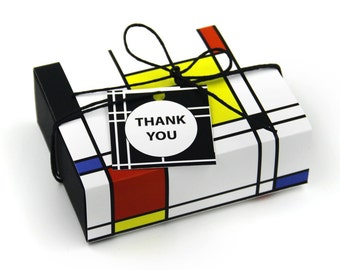 Package of Fancy Gift Box , Geometry Pattern, Favor, Gift, Party