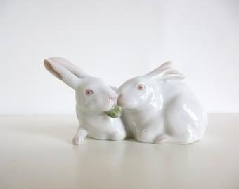 Vintage Mid Century Royal Copenhagen Rabbits