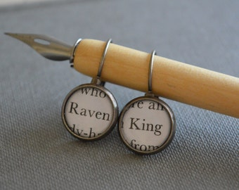 Raven King Earrings