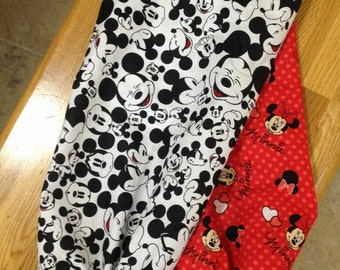 Disney Mickey and Minnie Mouse Bag Holder/Collector
