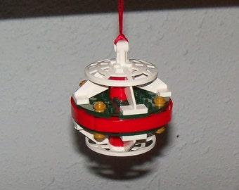 Christmas in July Elegant Handmade LEGO Christmas Ornament