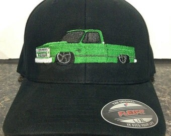 1980's Chevy C10 Embroidered hat