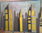 Superhero Mural, Canvas M...