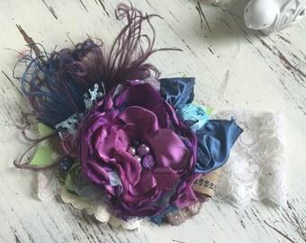Baby Girl Headband, Mustard Pie - m2m Persnickety-Baby Headband- TUTU Du Monde- Lace Headband, matilda Jane