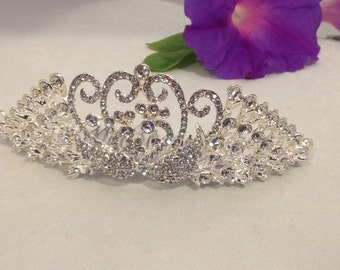 Bridal Hair Comb Peacock Bridal Crown Headpiece