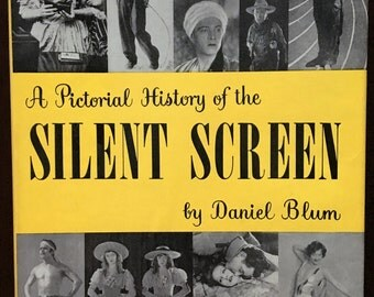Book,  A Pictorial History of the Silent Screen