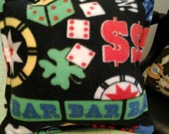 Fun Casino  Fleece Pillow