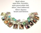 Personalized Family Photo Charm Bracelet, Custom Mother's Day Gift, Mother's Day Gift, Personalized Family Bracelet, Custom Family Pictures