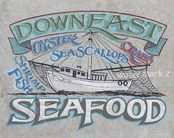 North Carolina  Downeast Seafood   Print