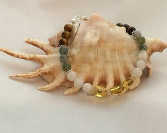 Graduation Gift! Say Congratulations and look forward to the future with this gemstone bracelet