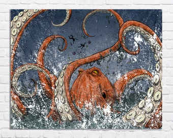 giant octopus attacks man - photo #17