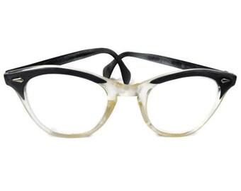 Vintage Ladies Eyeglasses - Mid Century Eyeglasses, Retro Eyeglasses, 1960's Ladies Eyeglasses