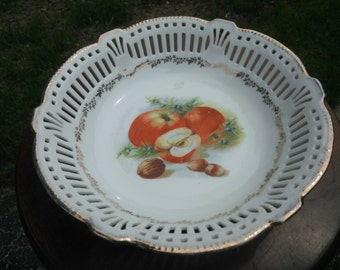 Vintage Fruit Bowl Made in Germany