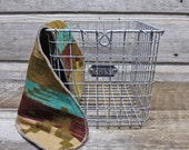 Vintage Wire Locker Basket