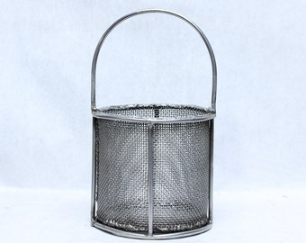 Vintage Industrial Wire Parts Baskets
