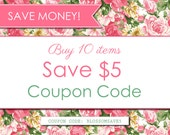 Digital Paper PACK - COUPON CODE - Buy 10 items and save 5 usd. (Please Do not purchase this listing)