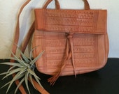 Small Moraccan leather bag