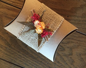 Wedding Favor Pillow Box