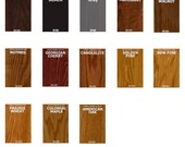 General Finishes Gel Stain- Pint or - Furniture Oil Topcoat- Java Wood finish!