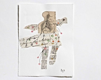 "collage original : "" l' homme buisson """