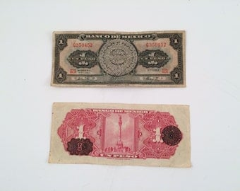 Mexican Peso Notes