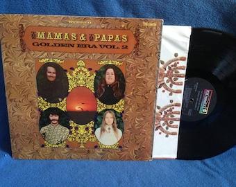 "Vintage, The Mama's & The Papa's - ""Golden Era Vol. 2"", Original 1968 Press, Vinyl LP, Record Album, My Girl, Twist And Shout"
