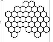 Custom Openwork HEX Wall Piece