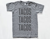 Taco T Shirt | Valentines Gift Idea | Unisex American Apparel T Shirt | Mens Shirt | Womens T Shirt | Foodie Gift | Gift under 30 | Taco Tee