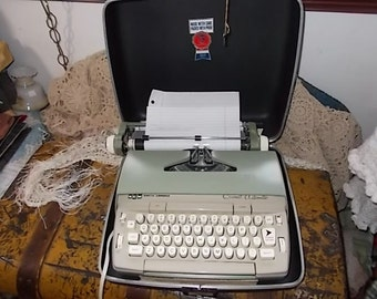 Smith-Corona Coronet Automatic Electric Typewriter with Case /Not Included in Coupon Discount Sale/ New Listing :)S