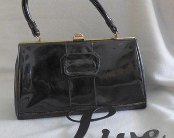 Authentic Patent Leather Handbag