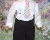 Sunday Best for American Boy Dolls