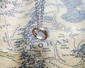 Promise Ring, Gold Pendant, Gift for Her, Birthday Gift, Gift Bag included