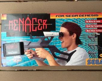 Sega Menacer Gun + Menacer Game