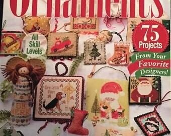 Just Cross Stitch 2014 Christmas Ornaments Issue, Magazine, JCS