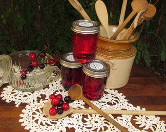 Texas State Fair Blue Ribbon Winner Cranberry Pomegranate Jelly