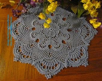 ROYAL CROWN; Crochet Doily Pattern; PDF; Kristoffersen; Victorian Decor; Thread Art; crochet thread; Popular Rug & Home Decor, Cottage Chic