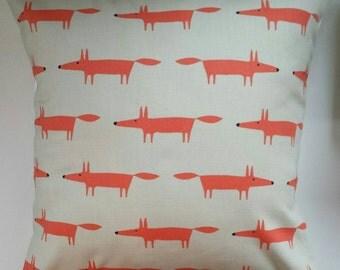 """Cushion Cover in Scion Mini Mr Fox Ginger 14"""" 16"""" 18"""" 20"""""""