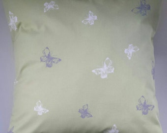 Cushion Cover in Next Green Butterflies 16""