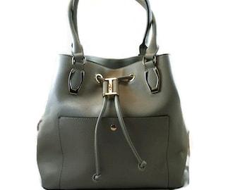 Ladies Camera Bag    Gray DSLR Bag   Camera and Ipad Bag  Ready to Ship