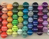 Custom Felt Ball Garland, Pom Pom Garland, Nursery Decor, Bunting Banner, Party Decor, Holiday, Create Your Own Garland