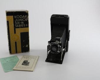 1933 Kodak Junior Six-16 Series II Camera - 616 Roll Film
