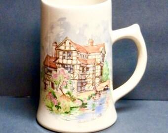 Stein Mug Sandland Ware Staffordshire #1277, Moreton Old Hall