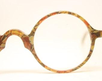 Beautiful Vintage Eye Glasses Retro Round 1980's vintage NOS