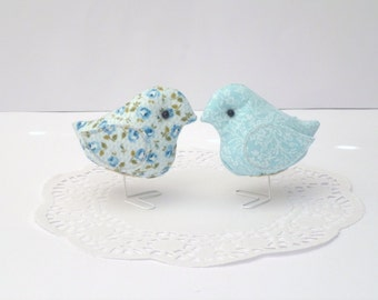 NEW- Fabric Birds