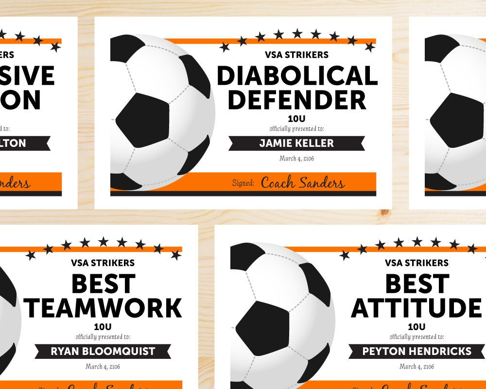 Soccer certificates templates fieldstation soccer certificates templates 1betcityfo Gallery